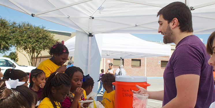 LSU Dietetics Student Teaches Local Children About Nutrition
