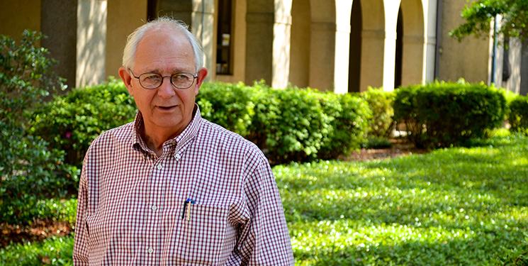 Retired philosophy professor Dr. Ed Henderson