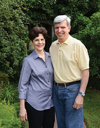 Cheryl Fasullo and Peter Fasullo