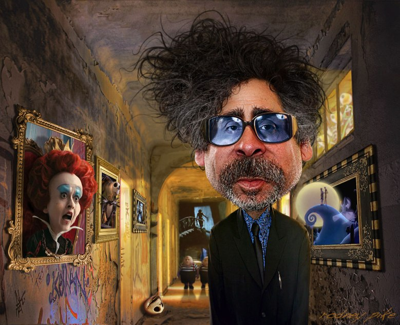 Tim Burton, illustrated by Rodney Pike